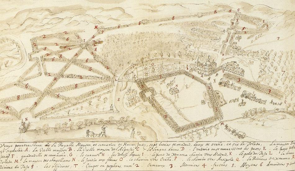 Mapa L'hermite sXVI